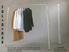 Instant Clothing Rack